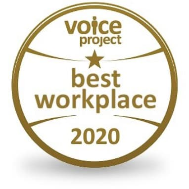 2020 Best Workplace Awards - Voice Project